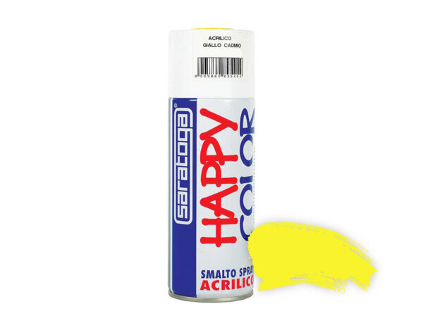Акрилен спрей RAL1018 HappyColor - 400ml