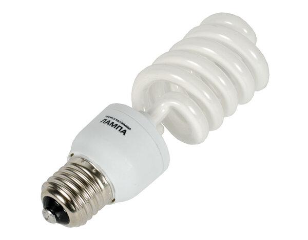 Енергоспестяваща спираловидна крушка - 20W/E27/2700K