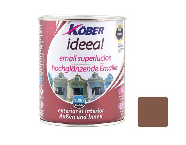 Емайллак IDEEA - светло кафяв гланц - 750мл