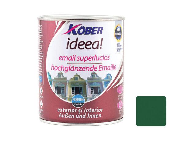 Емайллак IDEEA - тъмно зелен гланц - 750мл