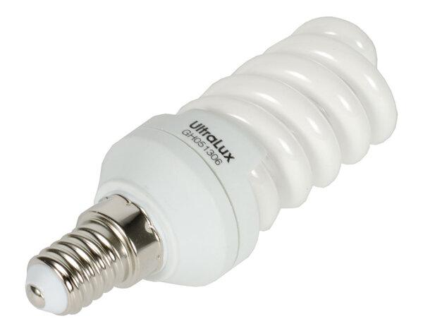 Енергоспестяваща спираловидна крушка - 12W/E14/2700K