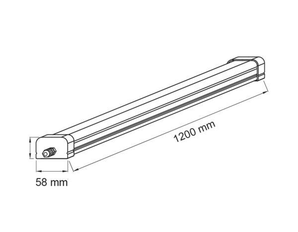 LED осветително тяло LLF3660