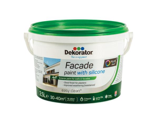 Фасадна боя Dekorator - със силикон, различни разфасовки