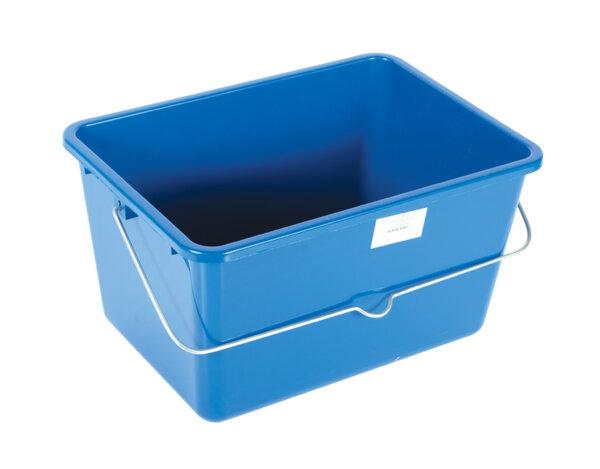 Правоъгълна пластмасова кофа за боя - 12L