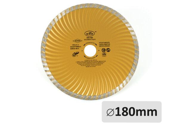Диамантен диск за бетон - ø180mm x ø22.2mm