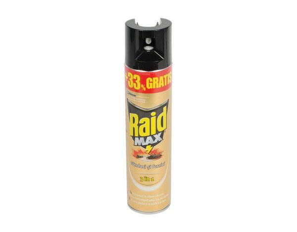 Аерозол срещу хлебарки и мравки MAX 3 в 1 - 300ml
