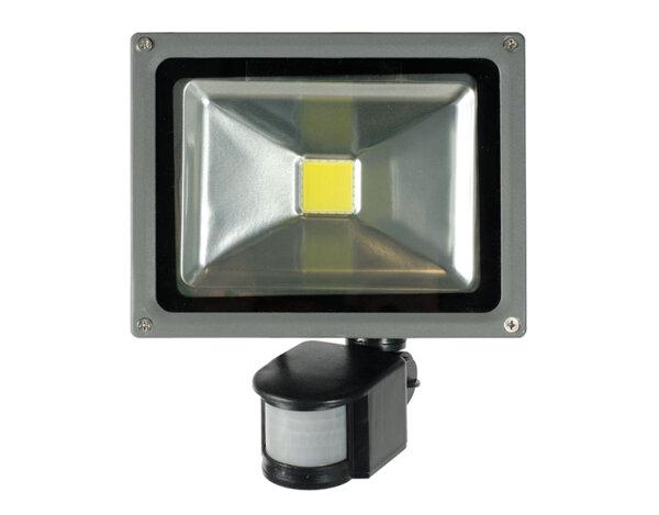 LED прожектор със сензор - 20W