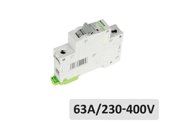 Автоматичен прекъсвач Ex9BN - 63A/230V-400V