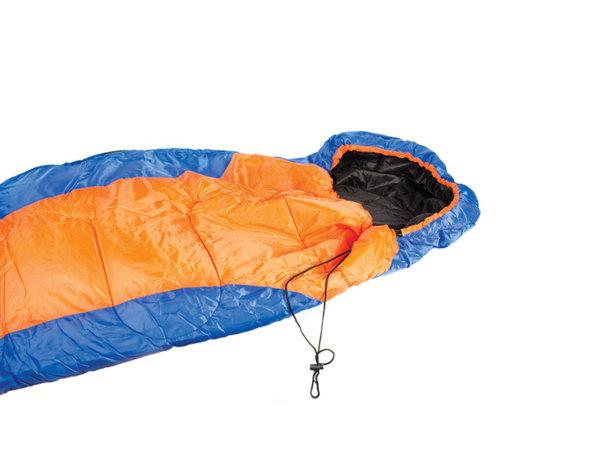 Спален чувал - син и оранжев, 70 x 220 cm