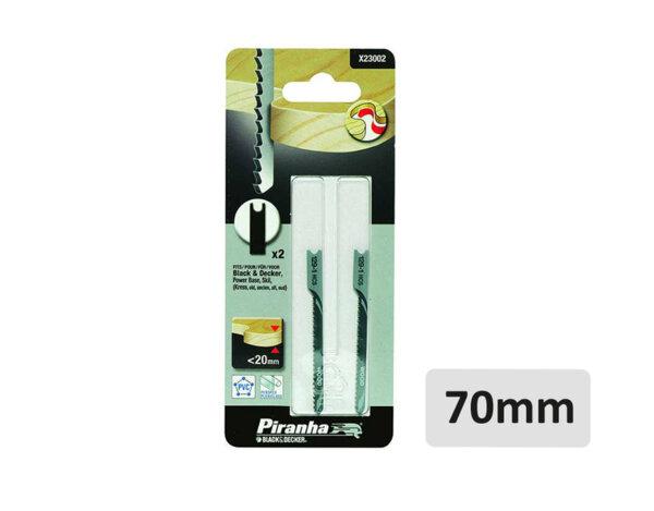 Ножчета за прободен трион X23002 WOOD