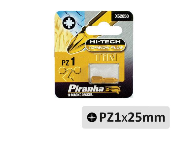 Торсионен накрайник - PZ1 x 25mm