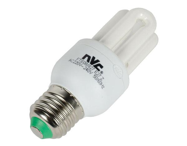 Енергоспестяваща U-образна крушка - 8W/E27/2700K