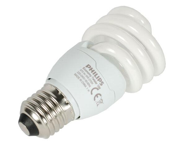 Енергоспестяваща спираловидна крушка - 15W/E27/6500K
