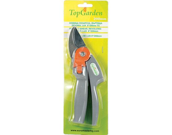 Лозарска ножица с въртяща дръжка TG382507