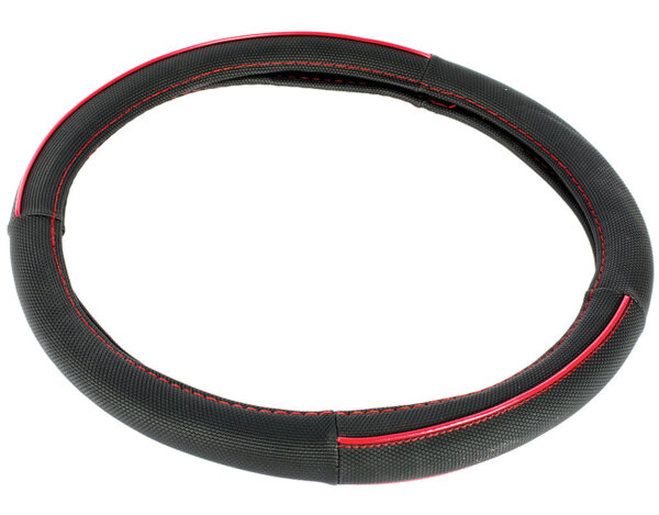 Червен калъф за волан - ø38cm