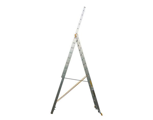 Професионална алуминиева стълба 3x14