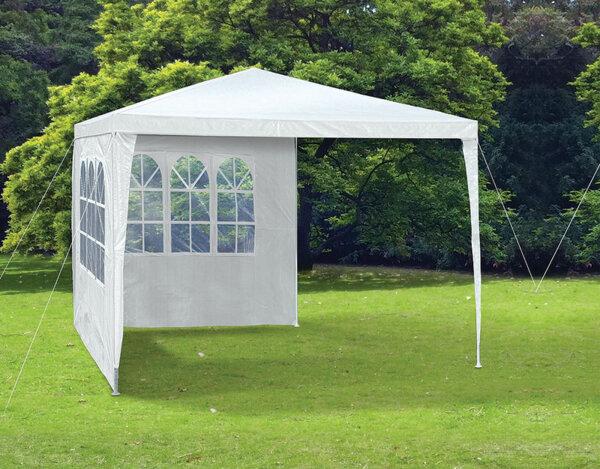 Градинска шатра с две страници