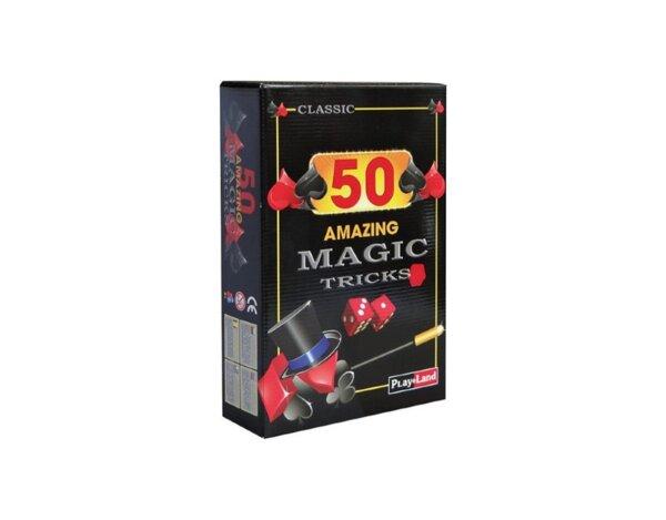 """Занимателна игра """"50 магически трика"""""""