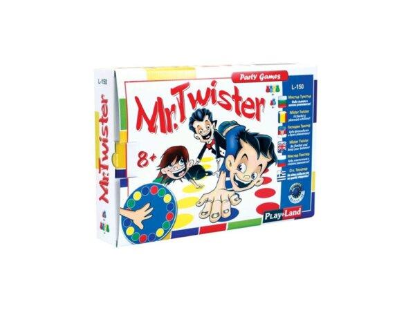 Картонена игра Mr. Twister - 8+