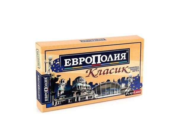 """Бизнес игра """"Европолия Класик"""", малка - семейна"""