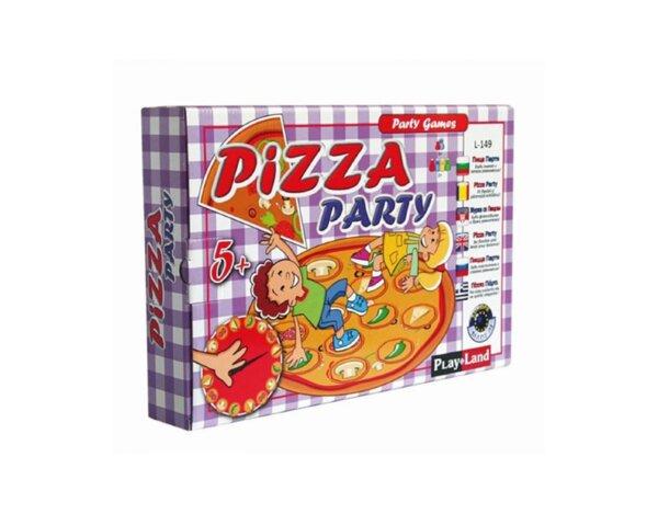 """Занимателна игра """"Пица парти"""""""