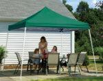 Градинска сгъваема шатра - различни размери