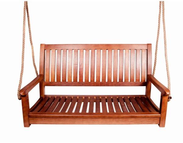 Дървена люлка - 121 x 69 cm