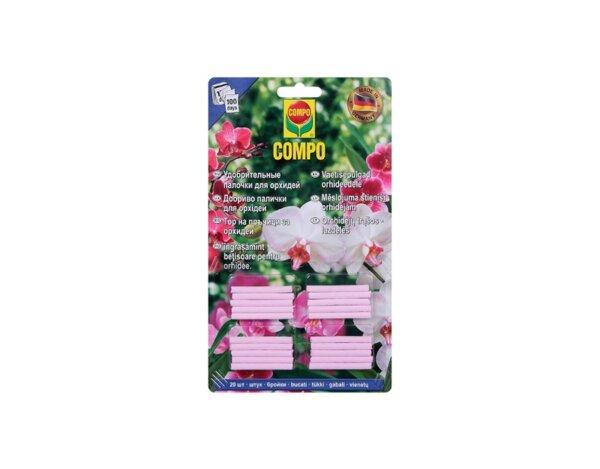 Тор на пръчици, за орхидеи - 20 бр.