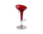 Бар стол H-17 - ABS, червен