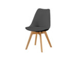 Трапезен стол К277 - еко кожа, различни цветове