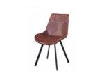 Трапезен стол К290 - еко кожа, различни цветове