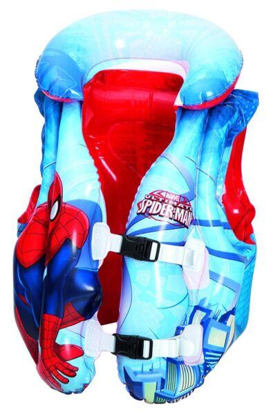 Надуваема жилетка Spider-Man, детска - 51 х 46 cm