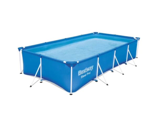 Сглобяем басейн с филтърна помпа - 400 х 211 cm