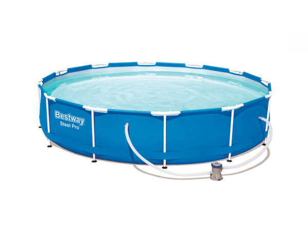 Сглобяем басейн с филтърна помпа - 366 х 76 cm
