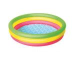 Детски надуваем басейн с три ринга - 102 х 25 cm