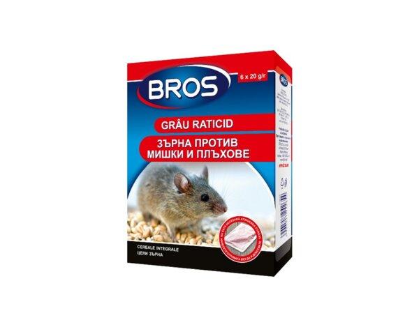 Отрова за мишки - зърна, 120 g