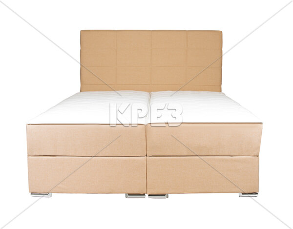 "Легло ""Добо"" с матраци - повдигащ механизъм, бежово"