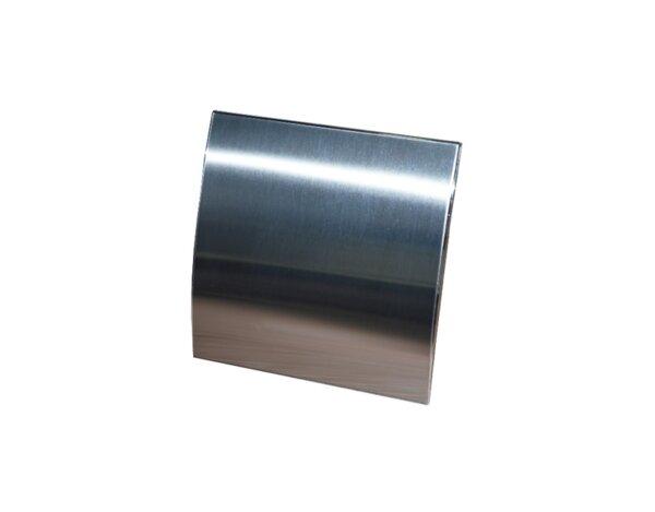 Квадратен вентилатор - метална плоча, овал