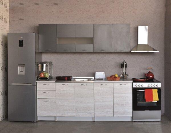 Кухня KREZ 2.0 - сива