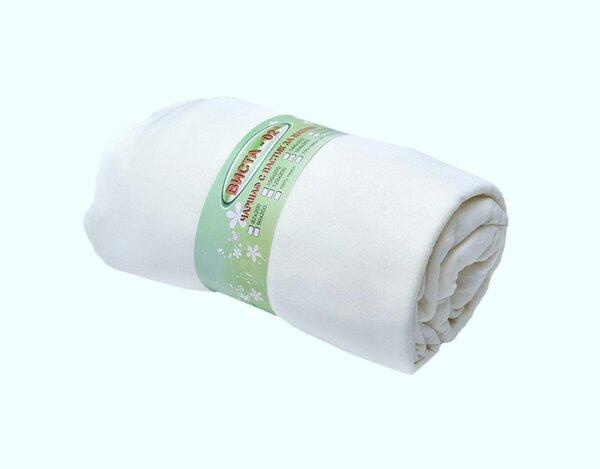 Чаршаф с ластик, памучен - 100 х 200 cm, различни цветове