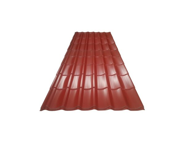 Метален покрив Standard - 2.55 x 1.2 m, 3.06 m², различни цветове