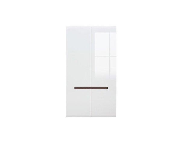 Гардероб Azteca - 105 x 57 x 192.5 cm, бял гланц