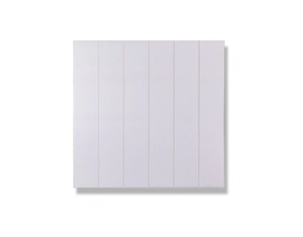 Самозалепващ PVC панел - 70 х 70 см, бяла дъска