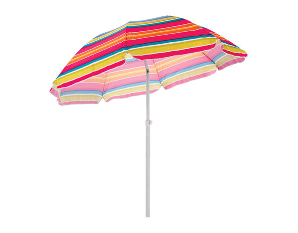 Плажен чадър - ø170 x 190 cm