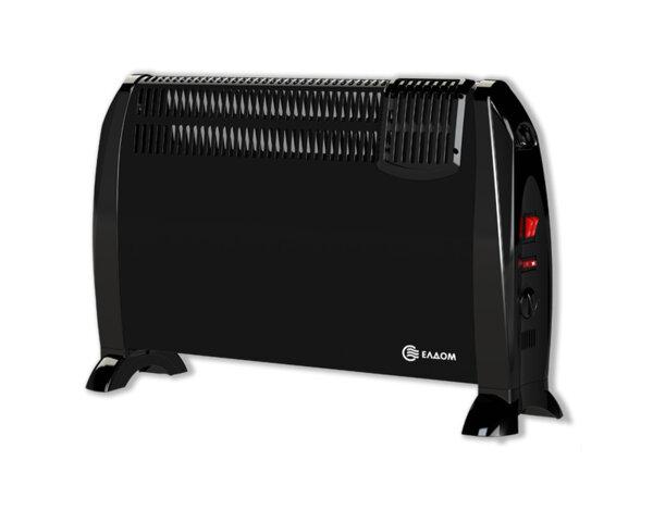 Подов конвектор CFV2000BL, с вентилатор - 2000 W