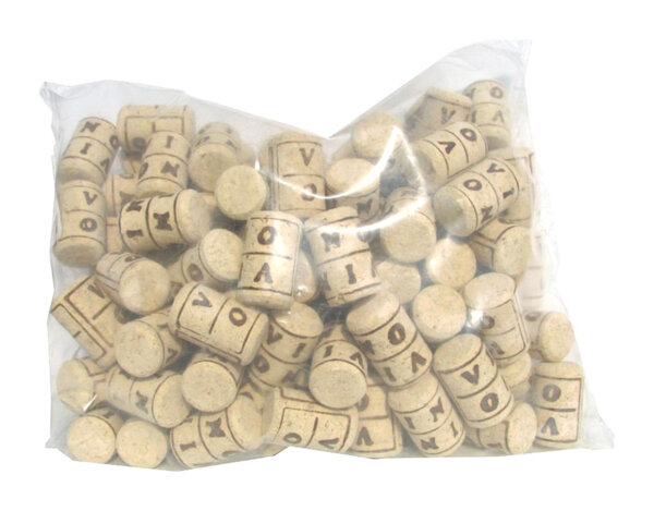 Агломерирани коркови тапи - 100 бр.