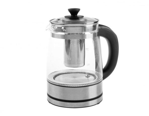 Електрическа кана R-7610, с филтър за чай кана - 2000 W