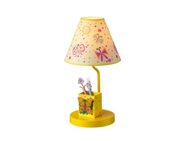 Настолна лампа Butterfly, 1 x E27 - 21 x 40 cm
