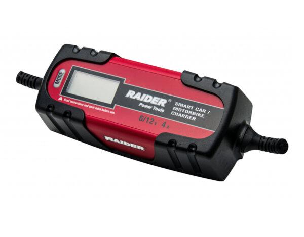 Иверторно зарядно за акумулатор RD-BC13 - 6/12 V, 4 A