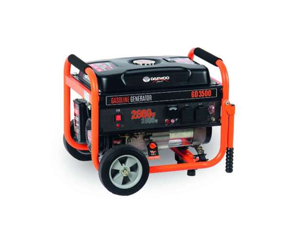Бензинов генератор GD3500 - 2500/2800 W